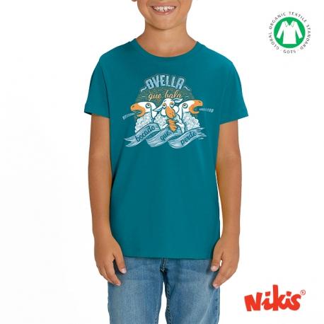 Camiseta Ovella que bala neno