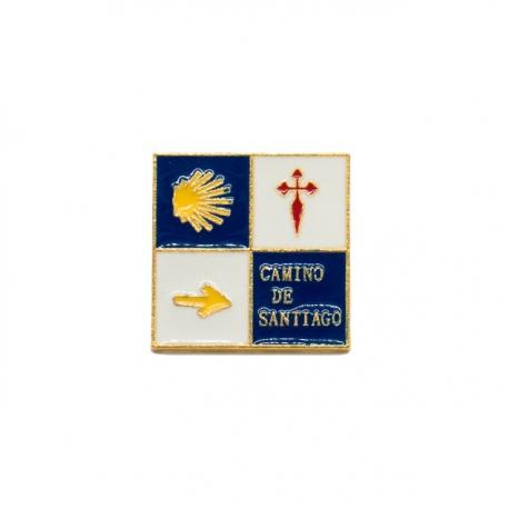 Pin 4 Logos Camino de Santiago