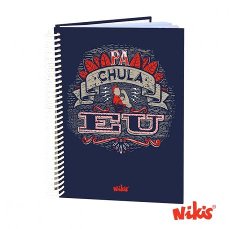 Caderno espiral Pa Chula Eu