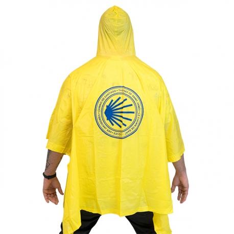 Languages Stamp Yellow Raincoat