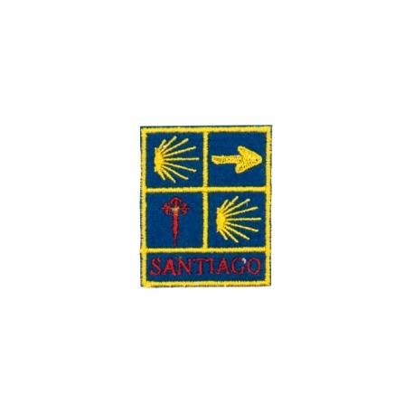 Parche 4 Logos Camino de Santiago