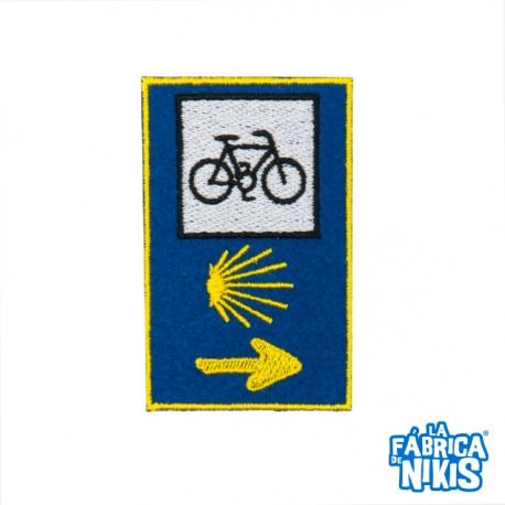 Parche Señal 3 Logos Bici