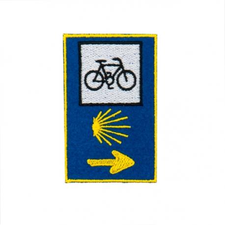 Parche Señal 3 Logos Bici Camino de Santiago
