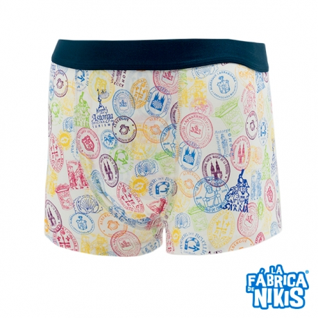 Colors Stamps Shorts