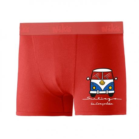 Calzón Furgo Rojo Niño