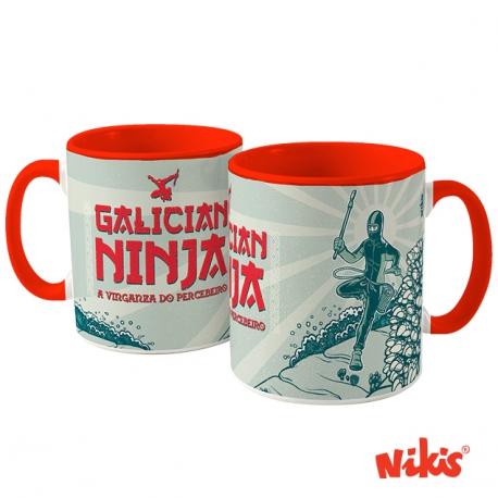 Taza Ninja Galego