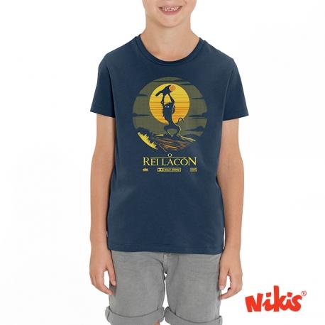 Camiseta O Rei Lacón neno