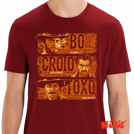Camiseta O Bo, O Croio, O Toxo ...
