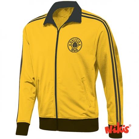 Chaqueta Galicia Amarelo Negro