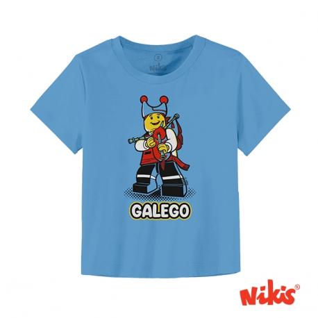 Camiseta Galego Folclórico bebé