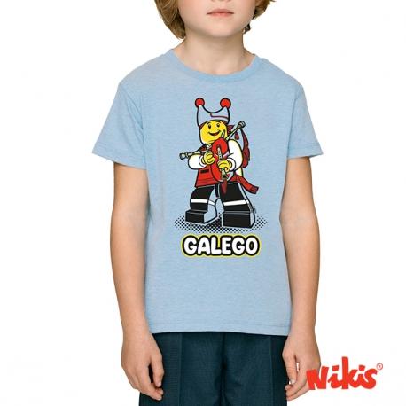 Camiseta Galego Folclorico neno
