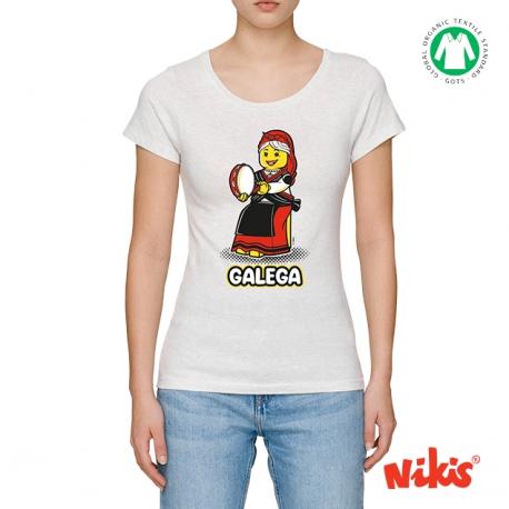 Camiseta Galeguiña Pandereta moza