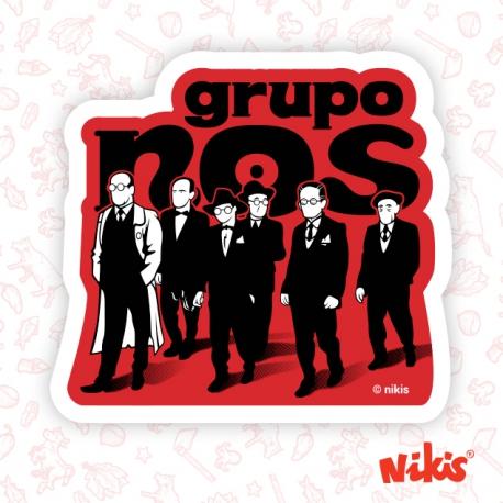 Pegatina Grupo Nós