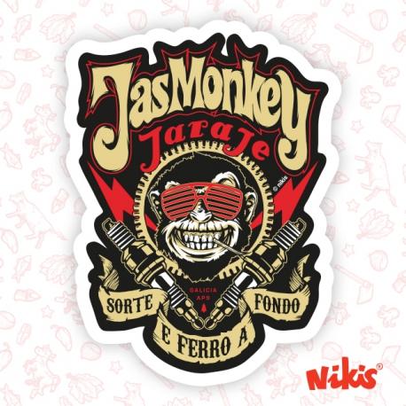 Pegatina Jas Monkey