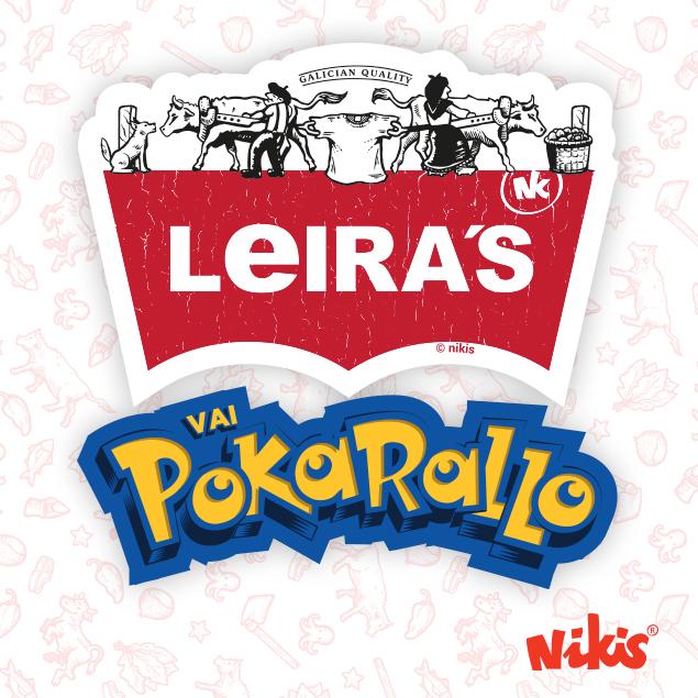 PEGATINAS LEIRAS, POKARALLO