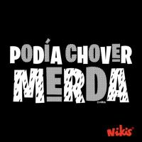 PARAGUAS PODÍA CHOVER MERDA