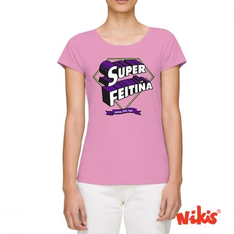 Camiseta Super Feitiña moza