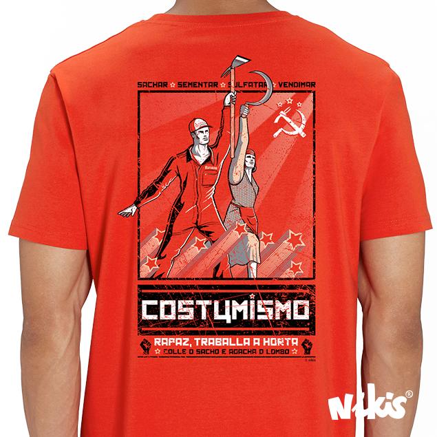 CAMISETA COSTUMISMO OFERTA