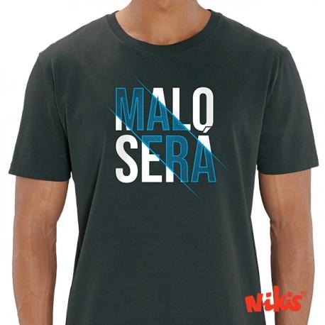 Camiseta Malo Será negro