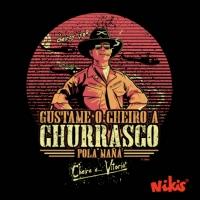 DELANTAL GÚSTAME O CHEIRO A CHURRASCO
