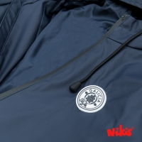 CHAQUETA IMPERMEABLE MUJER AZUL