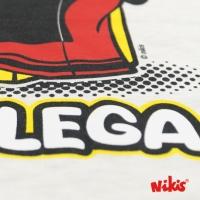CAMISETA GALEGUIÑA PANDEIRETA MOZA