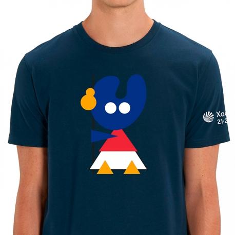 Camiseta Pelegrín Marino