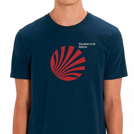 Camiseta Xacobeo Galicia Marino