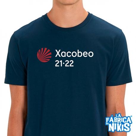 Camiseta Xacobeo 21-22 Marino