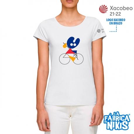 Camiseta Bici Pelegrín Mujer