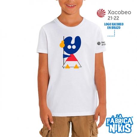 Camiseta Pelegrín Blanco Niño