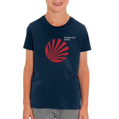 Camiseta Xacobeo Galicia Marino Niño