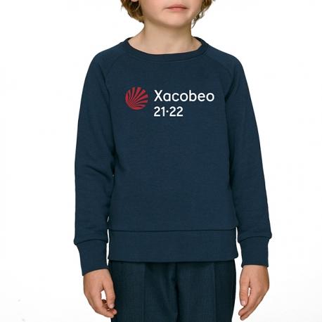 Sudadera Xacobeo 21-22 Niño Marino