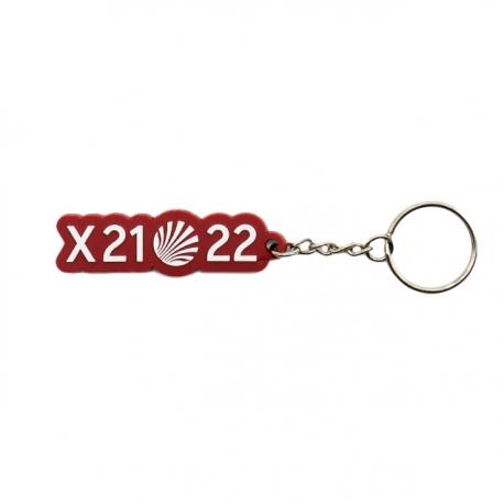 Llavero X21-22 Granate