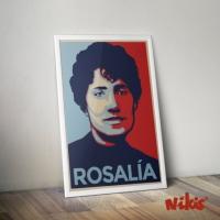 Póster Rosalía
